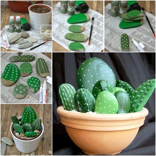 diy-rock-cactus