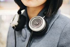 Listen to your music through headphones