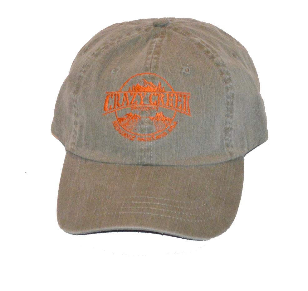 Crazy Creek Baseball Hat