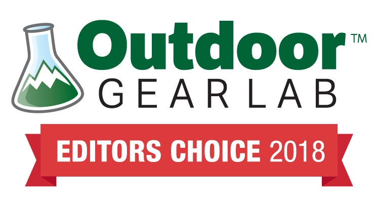 Outdoor Gear lab Editors choice award